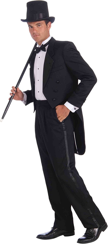 Mens Vintage Hollywood Tuxedo Costume
