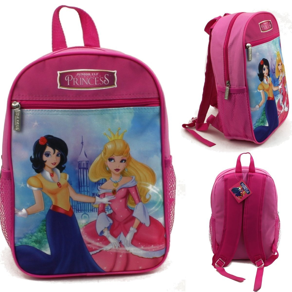 13'' Wholesale Junior Elf Princess Backpack - Case of 24