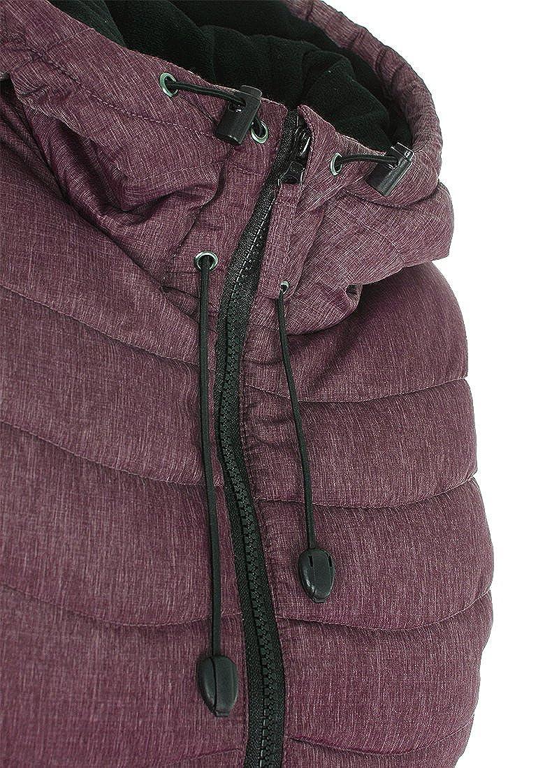 BlendShe Neni Womens Quilted Gilet Vest Body Warmer with Hood