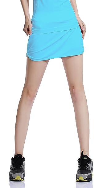HonourSport Falda de Golf Skort Tenis Mujer Negra Pantalón Ropa Padel Running Corta Moda Deportivas Short: Amazon.es: Ropa y accesorios