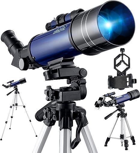 BEBANG Telescopio Astronómico, Óptica De Vidrio Totalmente ...