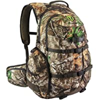 TideWe Hunting Backpack, Waterproof Camo Hunting Pack with Rain Cover, Durable Large Capacity Hunting Day Pack for Rifle…