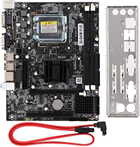 Desktop Mainboard, for Intel G41M LGA775 DDR3 Computer Motherboard Desktop Mainboard Memory Slot 2xDDR3 DIMM
