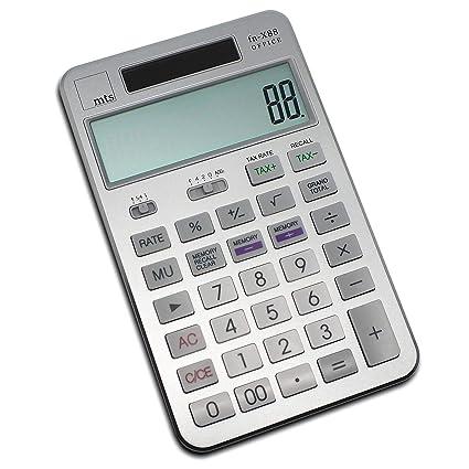 mts fn-X88 OFFICE Calculator - Calculadora de mesa, color dorado ...