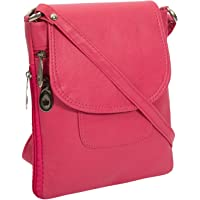 Awesome Fashions Women's sling bag/side bag (pink)