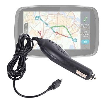 DURAGADGET Cargador Mechero De Coche para Tomtom Go 51/60 / 61 Cargar Su GPS