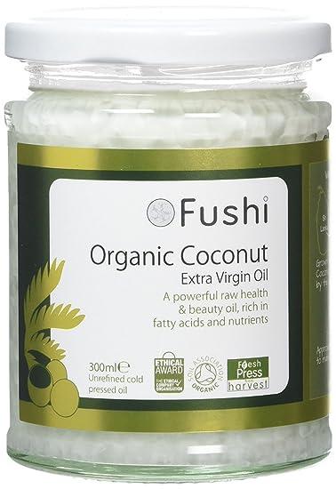 Fushi Organic Cold Pressed Virgin Coconut Oil 300ml (Pack of