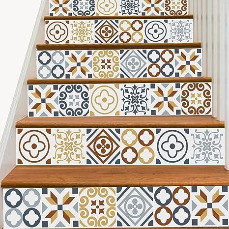 QMZB Pegatinas para Escaleras,Mural Adhesivo,para Escaleras O Pared Pegatina,Apto para Cocina, Escaleras, Dormitorio, Cama Alta Y Baja,100Cm*18Cm,C: Amazon.es: Deportes y aire libre