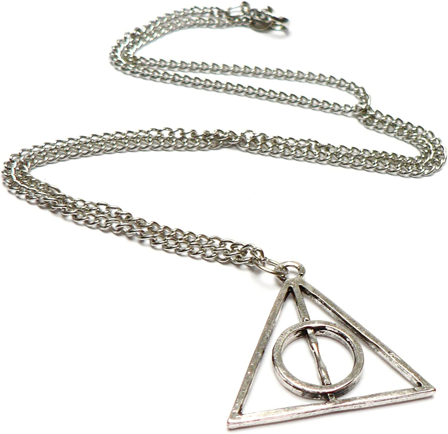 Signo de la Deathly Hallows Colgante Collar-Harry Potter-Reino Unido Stock