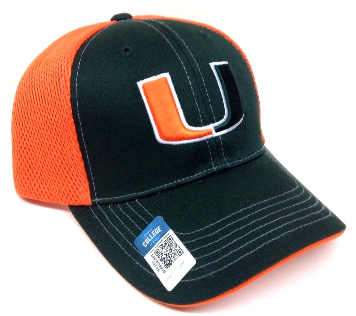 Amazon.com   Blitz Mesh UM Miami Hurricanes Snapback Hat   Sports   Outdoors 5a6c63cb322