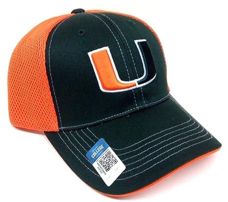 fced21adf72 Amazon.com   Blitz Mesh UM Miami Hurricanes Snapback Hat   Sports ...