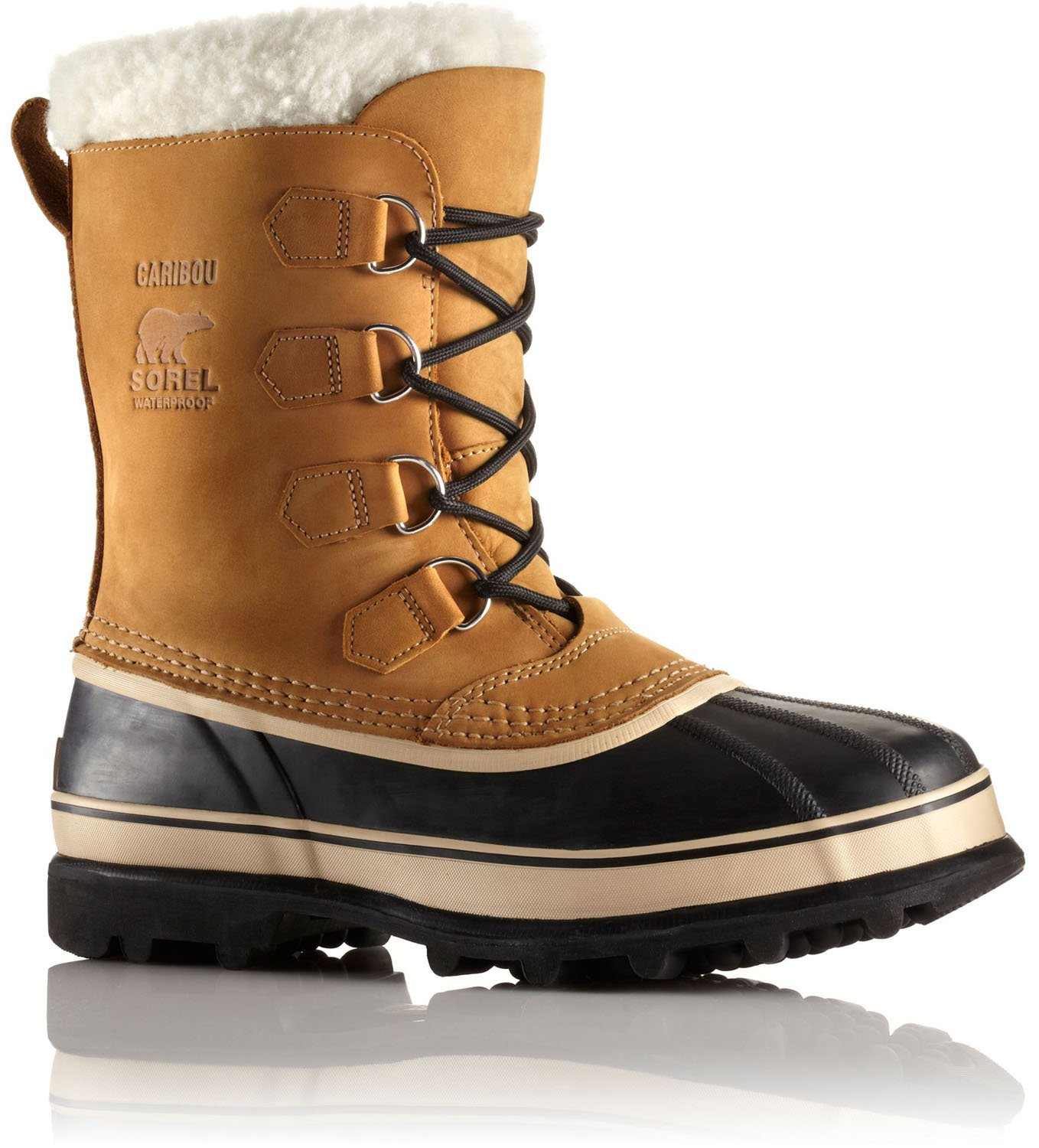 Sorel Mens Caribou Snow Boot Buff Size 14 by SOREL