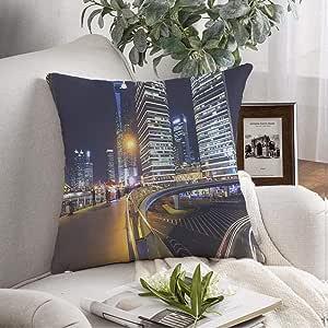 Amazon.com: Throw Pillow Cover Case Shanghai Pudong