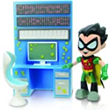 "Teen Titans Go 2.75"" Robin with Desk"