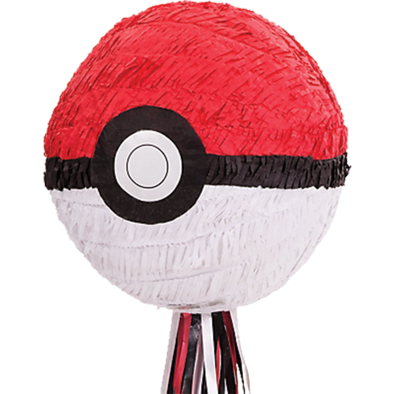 Amscan Pokémon Pokeball Pull Pinata