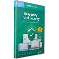 Kaspersky Total Security 2019 | 5 Devices | 1 Year | PC/Mac/Android | Activation Code by Post
