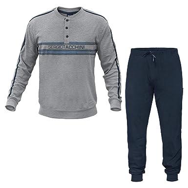 vendita calda online 741a6 36aa8 Sergio Tacchini Pigiama Uomo Homewear Caldo Cotone Art.27254