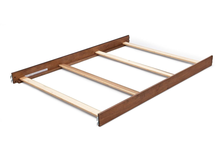 Simmons/Delta Childrens Hanover Park Crib-N-More Crib Full Size Conversion Kit Bed Rails - Chestnut 180080-227