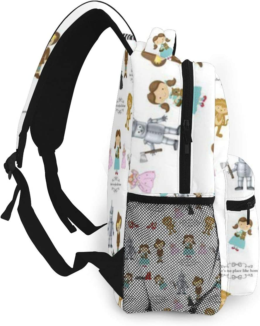 Vintage Wizard of OZ Themed Tablet bag that converts to a backpack
