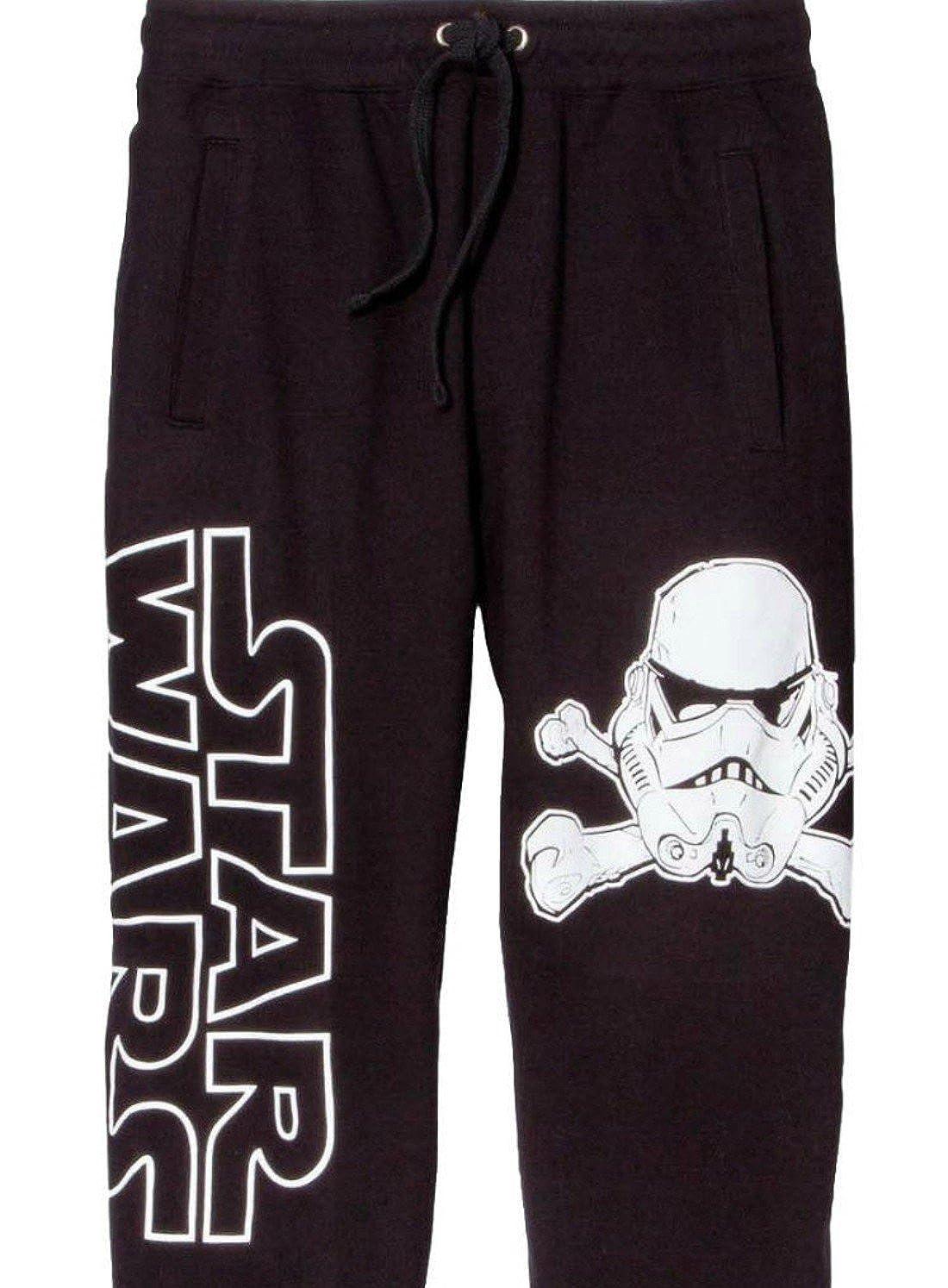 81ef98a5d6ae Amazon.com  Disney Star Wars Stormtrooper Crossbones Black Men s Jogger Pants  Lounge Pajama Sleep Pants Adult Unisex Jogging Fitness Sweatpants  (XX-Large)  ...