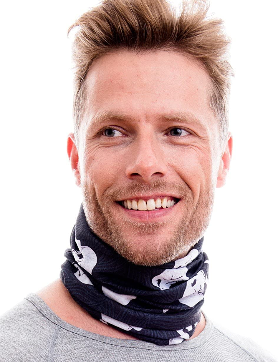 sports scarf tubular scarf bandana//set of 3 in trendy designs HILLTOP 3 x motorcycle multifunctional scarf
