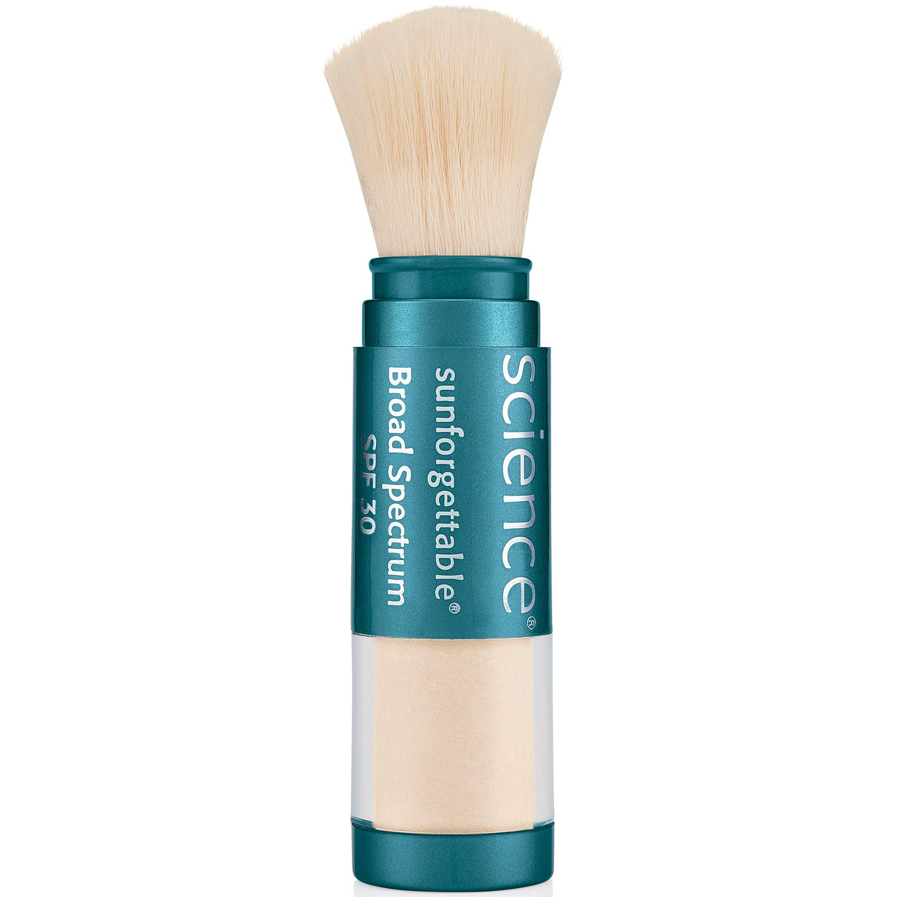 Colorescience Brush-On Sunscreen, Sunforgettable Mineral, Powder for Sensitive Skin, Broad Spectrum SPF 30 UVA/UVB Protection, 1 Count by Colorescience
