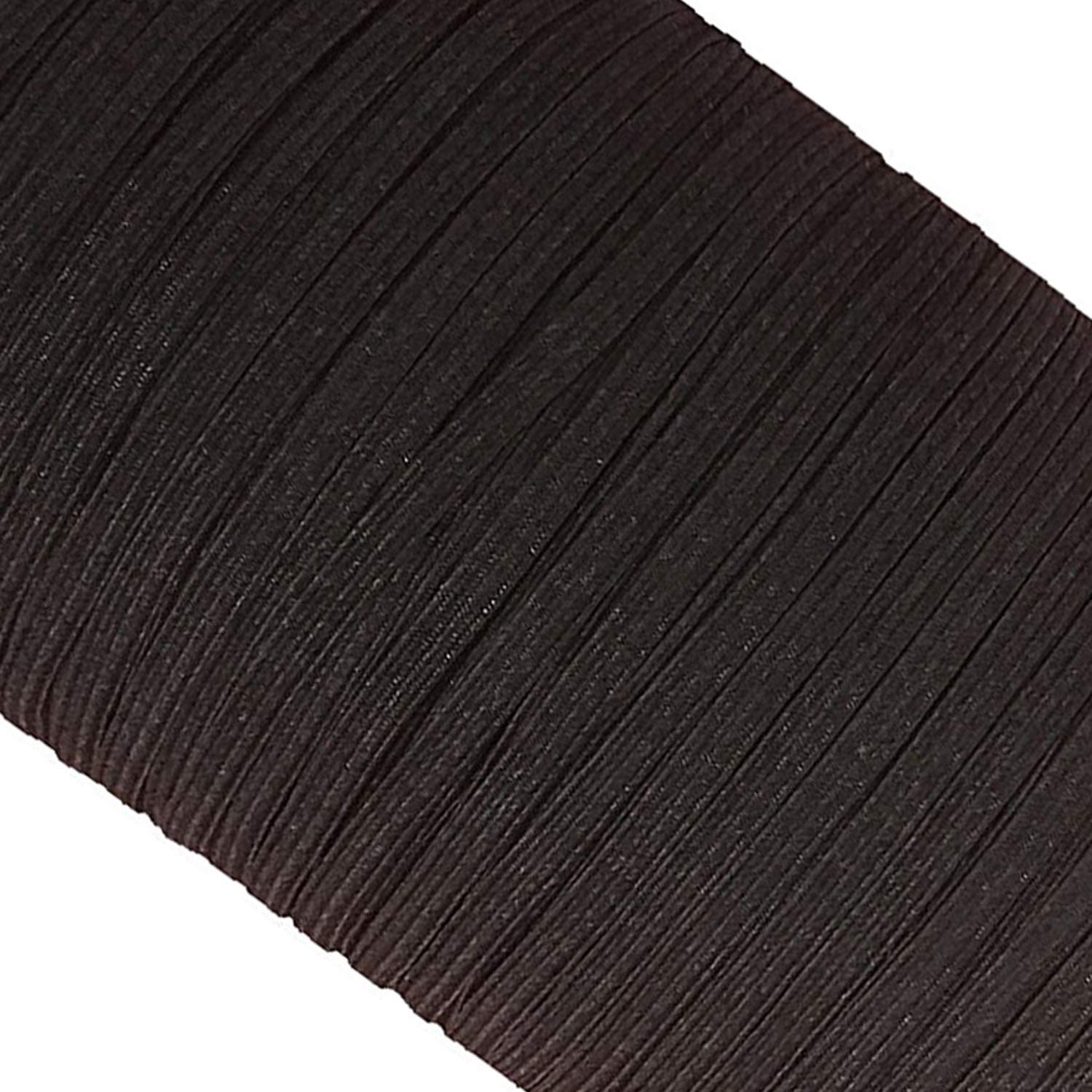 HABERDASHERY 10meters Quality 25mm Wide BROWN  LACES