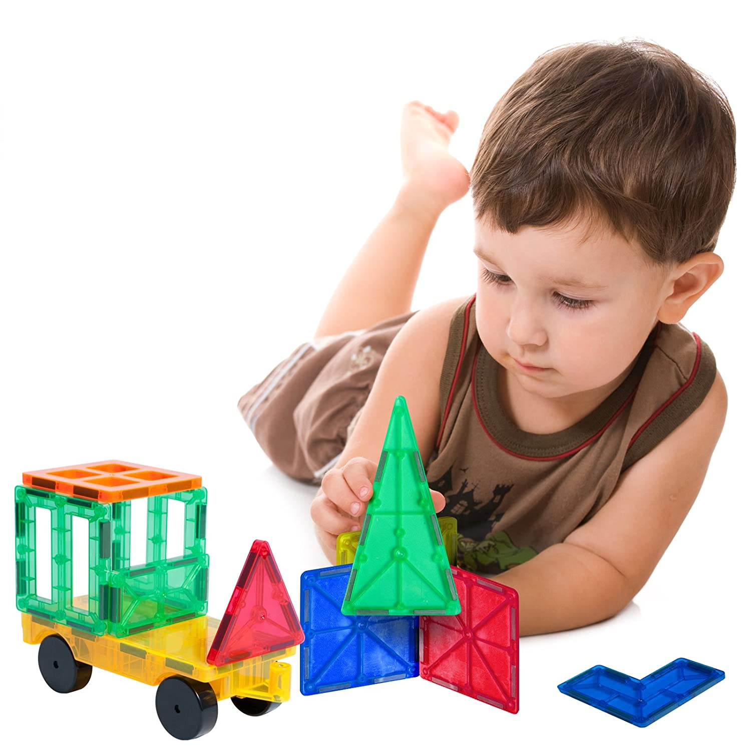 Amazon Tytan Magnetic Learning Tiles Building Set 100 Piece