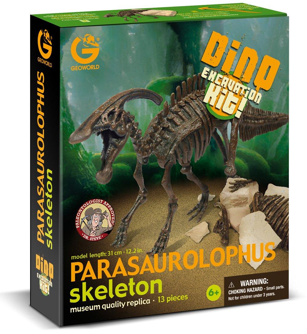 Geoworld Dino Excavation Kit–Parasaurolophus–cl173K Imitation Game– 23211305