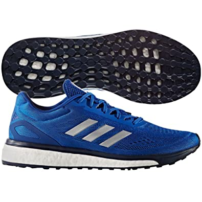 Adidas Response Boost LT Mens Running Shoe 6.5 Collegiate Royal-Silver  Metallic-White