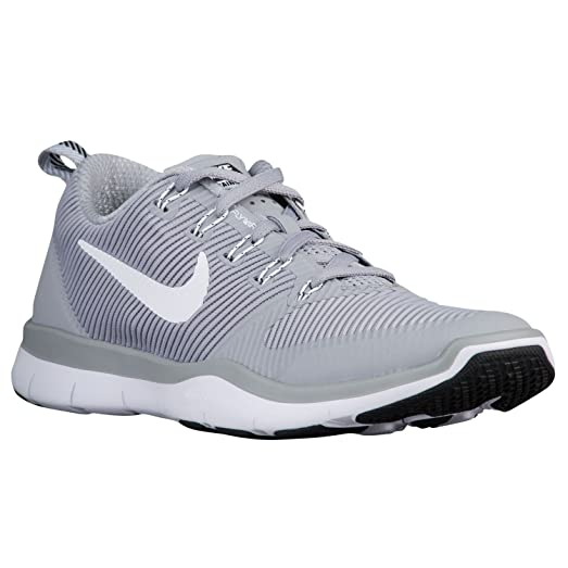 NIke Free Train Versatility TB Men's Running Shoes (17, Wolf Grey/White-