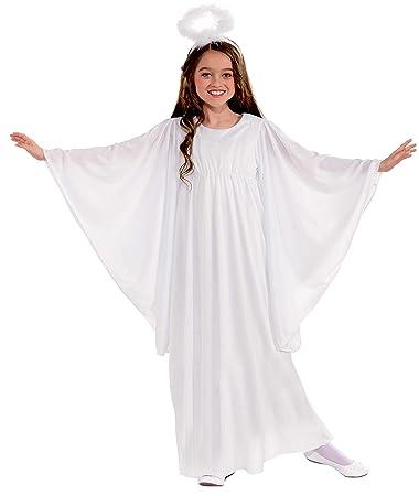 Amazon.com: Disfraz de ángel de lujo, para niñ ...