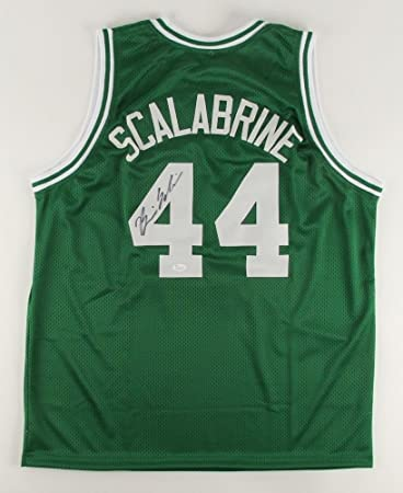 b54a9439a62 ... free shipping brian scalabrine autographed signed green celtics jersey  jsa certified 30509 a5dbc