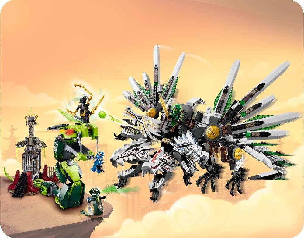 Super Saturday LEGO Ninjago 9450 Epic Dragon Battle Boxing ...