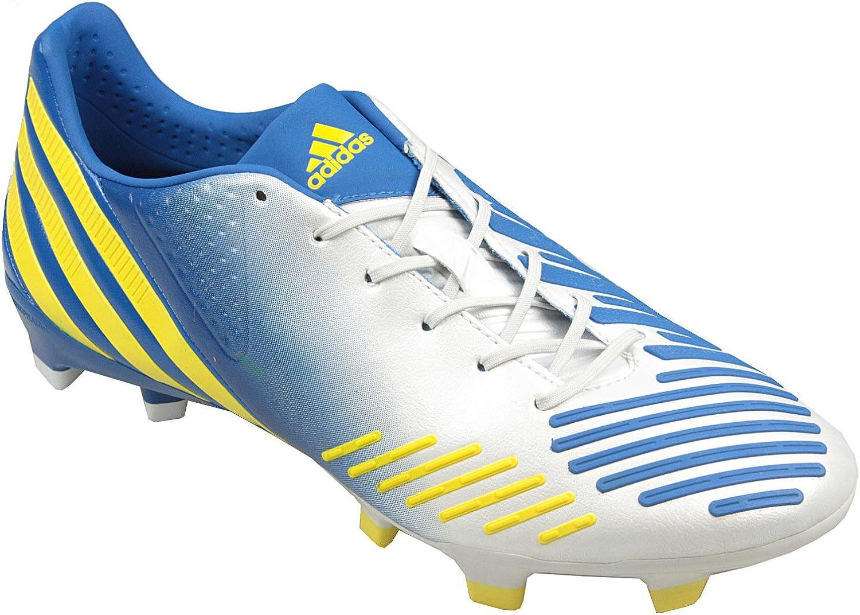 adidas Predator LZ TRX FG Botas en Color blanco/amarillo/azul ...