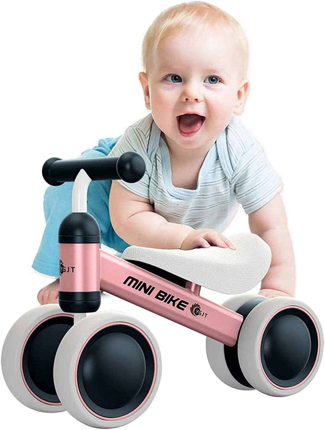 Suitable for 1-2 Years Old AYNEFY Balance Training Bike Mini Bike Scooter Walker Scooter Baby Walker Ride on Trike for Birthday Gift