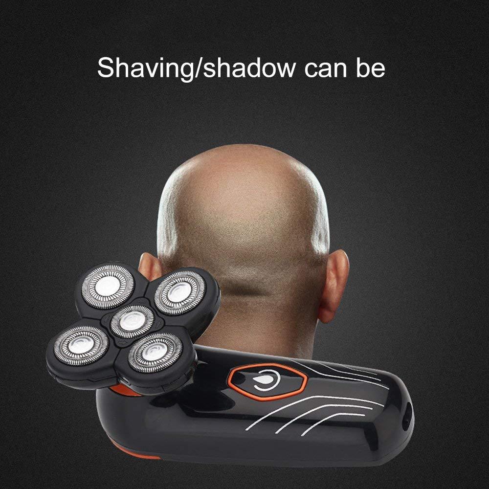 FDBF Electric Shaver Balding Head Polish Hair Clippers Hair Remover per Donna 5 Lama