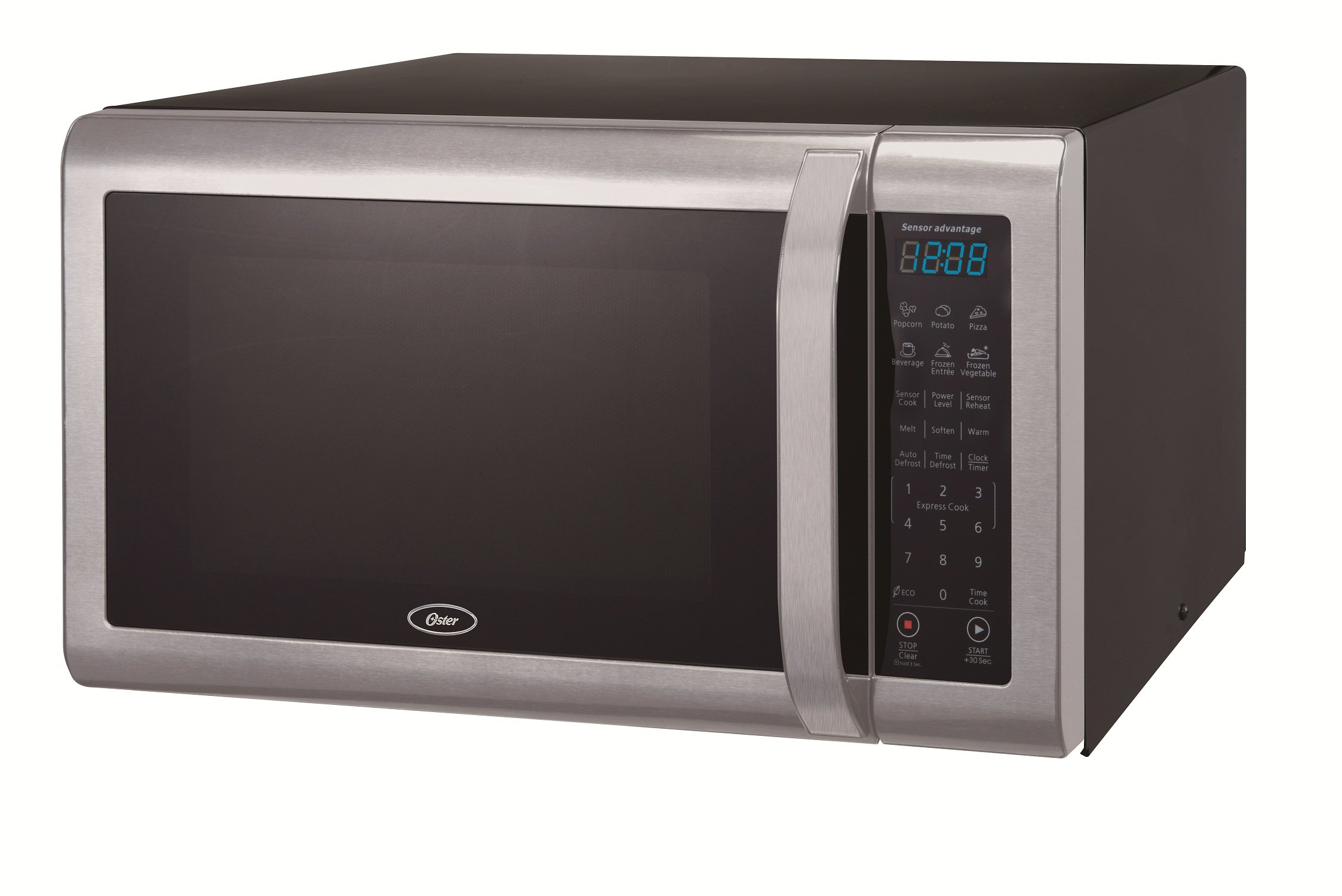 Oster OGCMWX14S2BS-11 1.4 cu. Ft. Microwave Oven, Stainless Steel