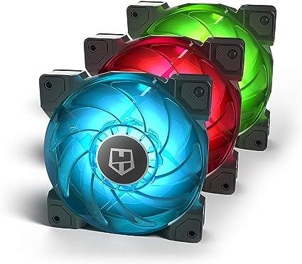 Nox H-Sync - NXHUMMERHSYNC - Pack de Ventilación 120 mm, RGB: Nox ...