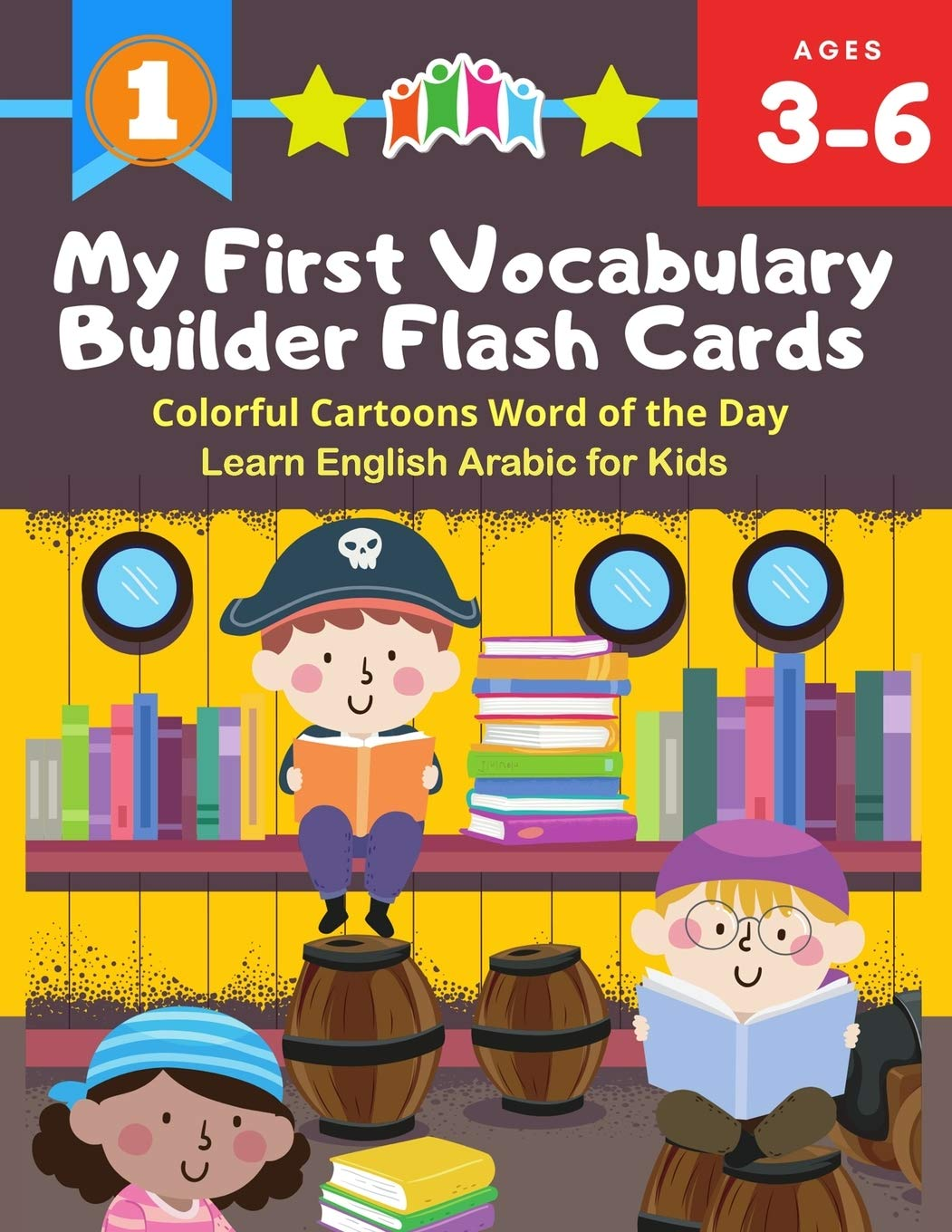 Amazon Com My First Vocabulary Builder Flash Cards Colorful Cartoons Word Of The Day Learn English Arabic For Kids 250 Easy Learning Resources Kindergarten Distance Learning Teacher Created 9798638051129 Berlincon Samuel Books