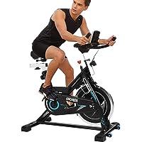 ANCHEER Indoor Cycling Bike, Belt Drive Indoor Exercise Bike with 49LBS Flywheel (Model: ANCHEER-B3008)