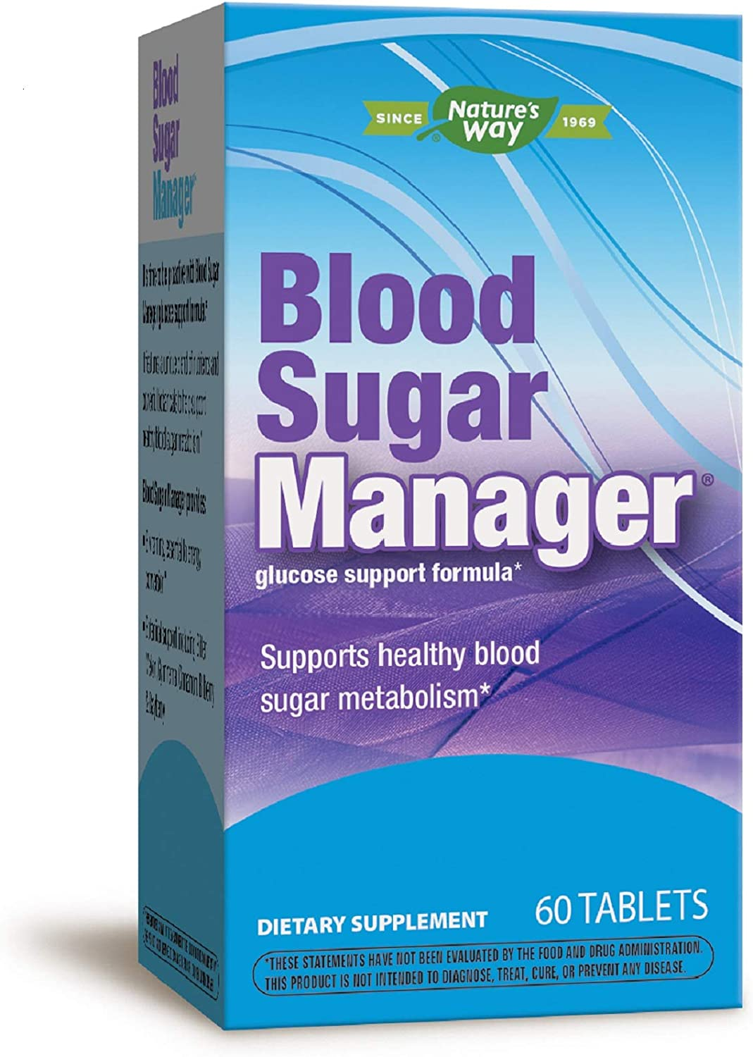 Nature's Way Blood Sugar Manager Glucose Support Formula, 60 Count (Packaging May Vary)