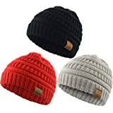 c5d52f043d81 Zando Baby Beanies for Boys Cute Soft Warm Baby Knit Hat Toddler Infant  Winter hat Caps