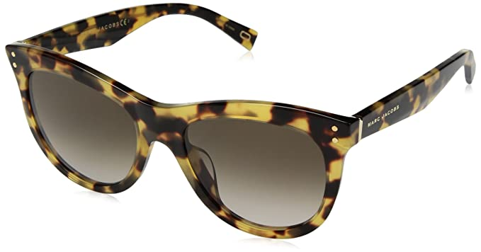 8f99e96fddfc Image Unavailable. Image not available for. Color: Marc Jacobs Women's  Marc118s Round Sunglasses ...