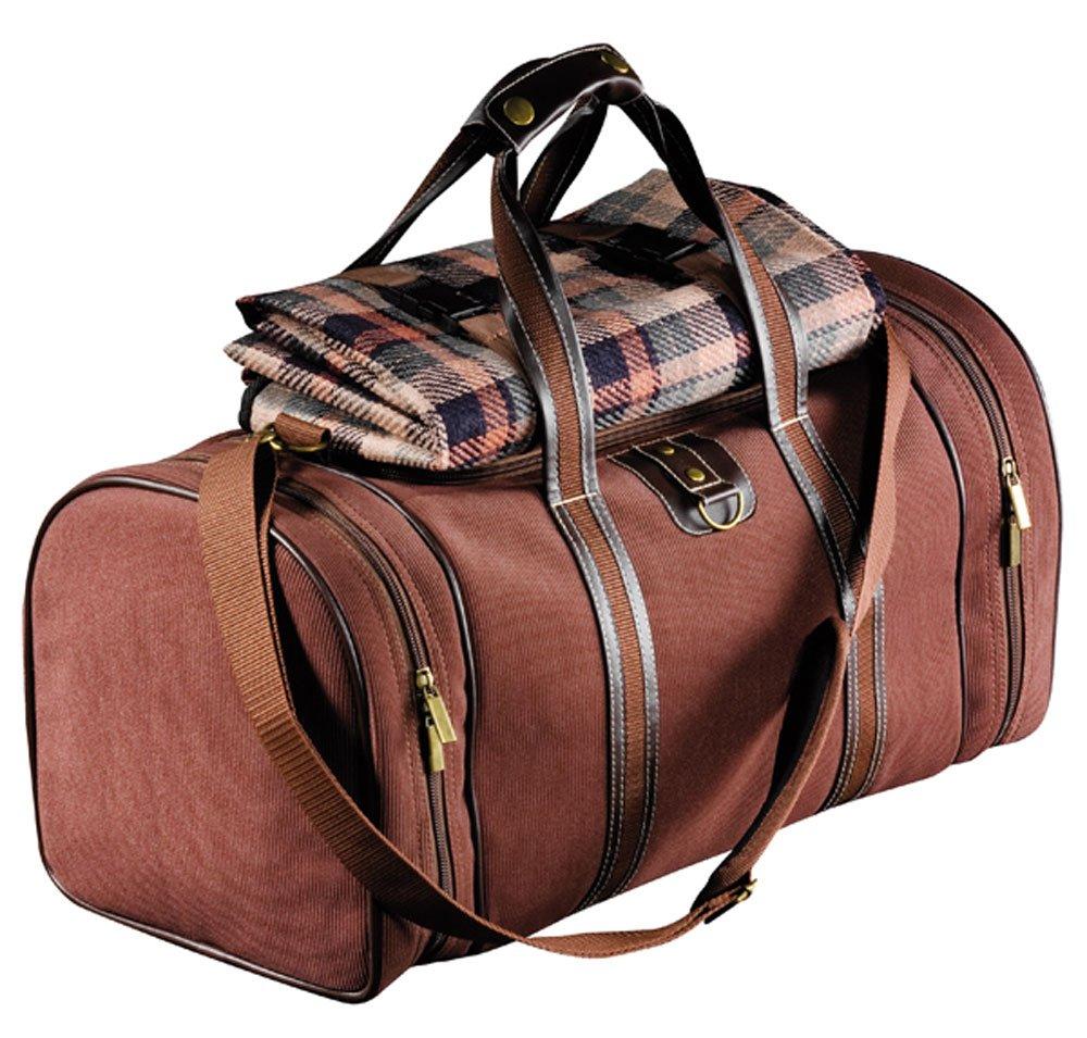 Picknicktasche Kühltasche 4 PICKNICK für 4 Personen mit Decke