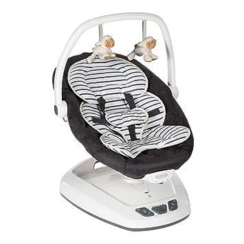 Graco Move with Me - Columpio para bebé, diseño rayas bretonas: Amazon.es: Bebé