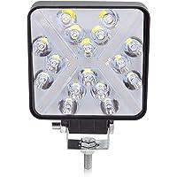 BeiLan Haz combinado Focos de Coche LED, 48W 12V/24V Faros Led Trabajo Proyectores Luz de carretera Luz de trabajo…
