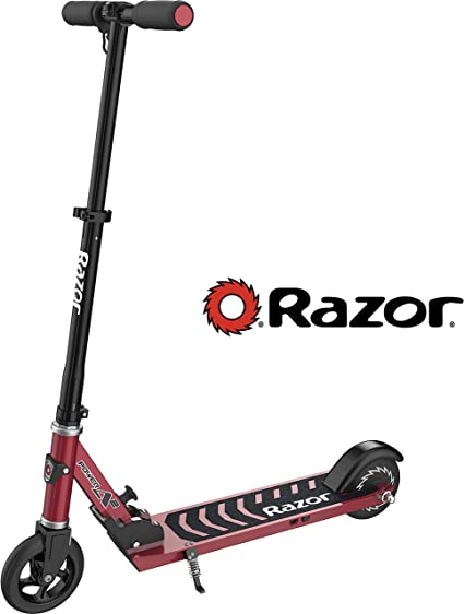 Razor Power A2 Electric Scooter for Kids Age 8+, Lithium-ion Powered Brushless Hub Motor, Anti-Rattle Folding Mechanism, Rear Wheel Drive for Better ...