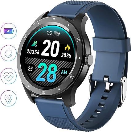 jpantech Smartwatch, Reloj Inteligente IP68 Pulsera Actividad ...
