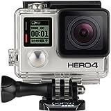 GoPro CHDHX-401-FR HERO4 Black Edition Adventure Videocamera 12 MP, 4K/30 fps, 1080p/120 fps, Wi-Fi, Bluetooth, Versione Inglese/Francese (Ricondizionato Certificato)